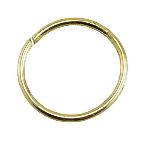 PCM Nose Ring Antique Plain Silver Gold Plated Nose Pin For Women