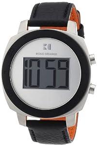 Boss Orange - Reloj digital para mujer de cuero plata de Boss Orange
