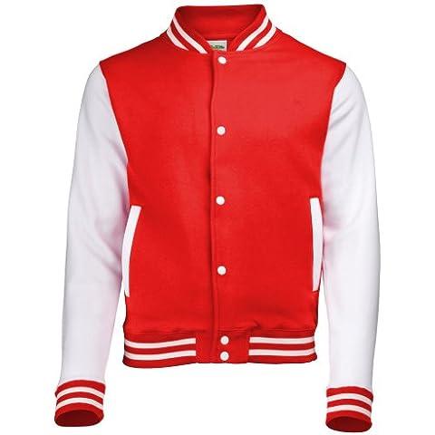 AWDis Kids Varsity Jacket, Chaqueta para Niños
