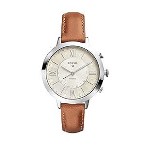 Fossil Damen Analog Quarz Uhr mit Leder Armband FTW5012