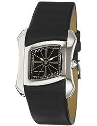 Pierre Cardin Damen-Armbanduhr Papillon Analog Quarz Leder