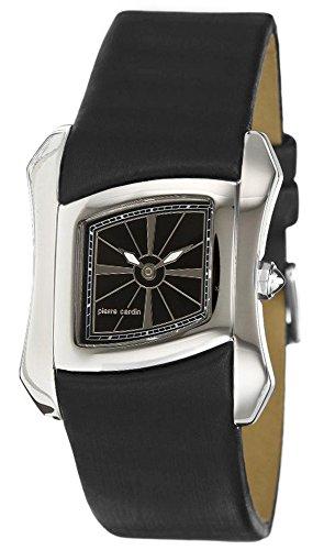 Pierre Cardin Damen-Armbanduhr Papillon Analog Quarz Leder Swiss Made