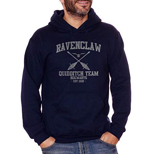 Sweatshirt Ravenclaw Quidditch Harry Potter - Film Choose ur Color - Damen-L-Blau