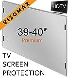 39 - 40 pollici Vizomax Protezione Schermo per televisione. Si adatta LCD, LED e Plasma televisori TV
