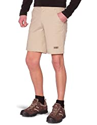 Helly Hansen Due South - Pantalón corto para hombre, color marrón, talla 32