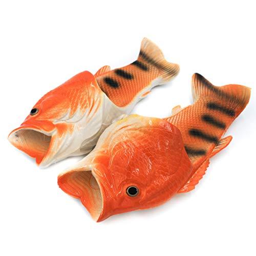 Coddies Goldfisch-Flops | Strandschuhe, Flip Flops, Freizeitschuhe, Hausschuhe, Duschschuhe und Sandalen für Männer, Frauen und Kinder (40/41 EU Grün)