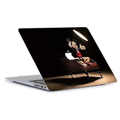 414WSk0A0ML - AQYLQ Funda Dura para MacBook Air 13 Pulgadas (A1369 / A1466), Ultra Delgado Carcasa Rígida Protector de Plástico Cubierta - Disney Mickey