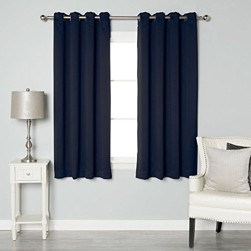 Kitchen Curtains Amazon Co Uk: Navy Blue Curtains: Amazon.co.uk