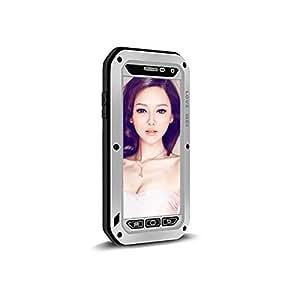 LoveMei Coque de protection waterproof / antichoc / antipoussière avec verre Gorilla de Corning pour Samsung Galaxy A5 - Argent