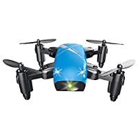 S9 Foldable RC Mini Drone RC Quadcopter RTF 2.4GHz 4CH 6-axis RC Toys Best Gift for Children Blue