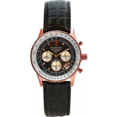 krug-baumen-400703ds-reloj-correa-de-cuero-color-negro