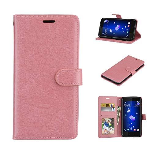 Für Lenovo Vibe S1 Hülle, Geschäft Leder Wallet Schutzhülle Case Cover für Lenovo Vibe S1 [Pink]