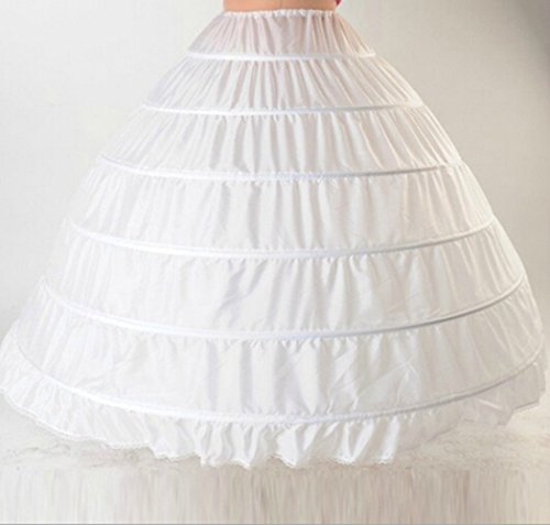 Denshine Wedding Bridal Petticoat Underskirt Petticoat Reifrock Unterrock Crinoline für...