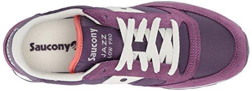 Saucony Jazz Low Pro, Scape per Sport Outdoor Donna Purple/white