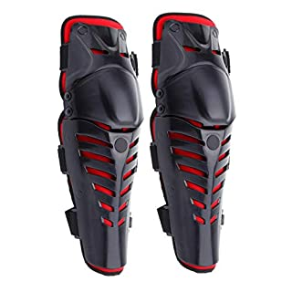 ambienceo 2Pcs Motorrad Erwachsenen Körper Knieschützer Motocross Racing Guard Schutz Protector Gear