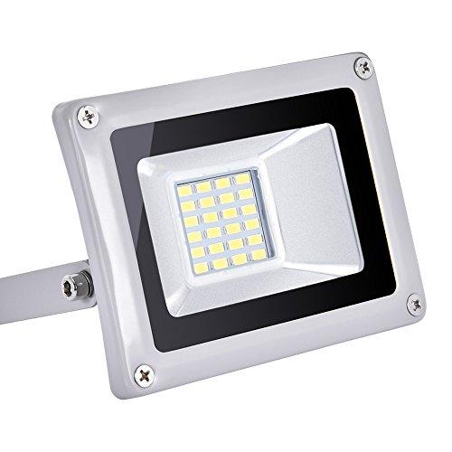 Foco Proyector LED 20W ,1400LM ,220V ,IP65 Impermeable, Blanco Frio 6000-6500K Lámparas...