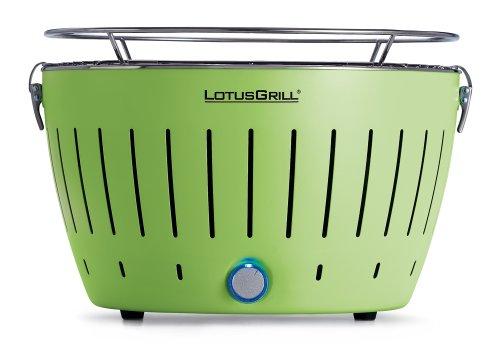 LotusGrill - Limettengrün - der RAUCHFREIE Holzkohlegrill