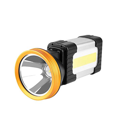 497b6a6694c9 Yaxuan LED Searchlight Recargable portátil proyector de Mano Spotlight  Linterna de Camping, Power Bank de Alta Potencia Super Brillante táctica ...