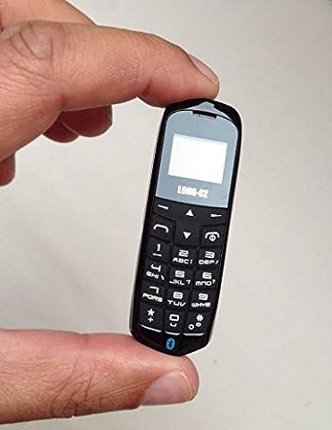 Kleinstes Handy der Welt, simlockfrei, Bluetooth, FM-Radio, Micro-SIM, 18g,