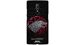 Redwolf Game of Thrones Fire Blood and Ice Mobile Cover Onplus 6 Official Licensed by HBO,USA
