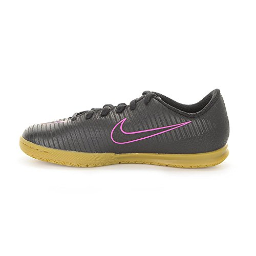 Nike Jr Mercurialx Vortex Iii Ic, Chaussures de Football Mixte Adulte Negro (Black / Black)