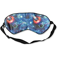Eye Mask Eyeshade Planet Bright Drawing Sleep Mask Blindfold Eyepatch Adjustable Head Strap preisvergleich bei billige-tabletten.eu