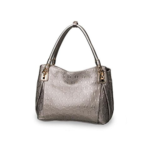Z&N Europa die Vereinigten Staaten Qualität Mode Damen Handtaschen Umhängetasche lässige Tasche Reisetasche geeignet für Abendessen PicknickParty Multi-Tasche Silver