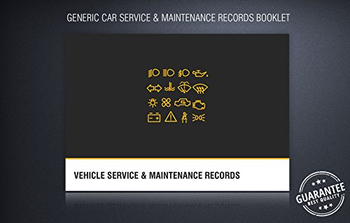 Price comparison product image Generic Car Service History Maintenance Record Log Book for All Car Makes Models (1)