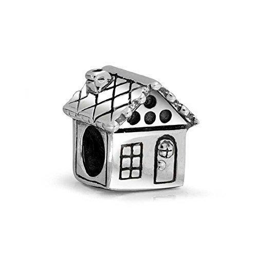 Truecharms argento famiglia love casa charm per braccialetti pandora jewelry