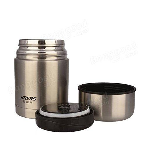 Bazaar Haers leer 600ml Verbrennung Lebensmittel Topf Milchtopf, Isolierter Lunchbox Thermo Funtainer