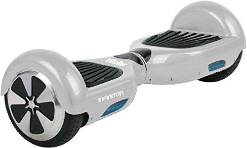 "Infiniton InRoller 2.0 Patinete Eléctrico Hoverboard 6"" - Blanco"