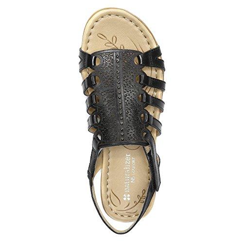 Naturalizer Whisper Femmes Large Cuir Sandale Black