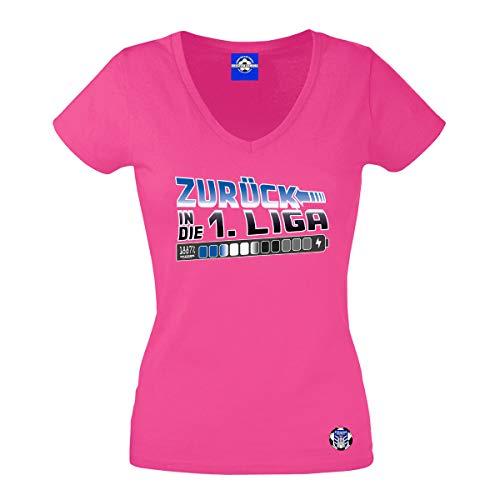 Volkspark Hamburg Streetwear Frauen Shirt Zurück Pink M