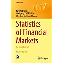 Statistics of Financial Markets: An Introduction (Universitext)