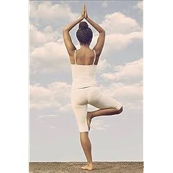 Póster 40 x 60 cm: Yoga de Joana Kruse - impresión artística de alta calidad, nuevo póster artístico