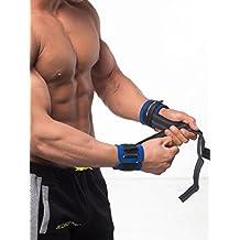 Jed North Bodybuilding Sport Wrist Wraps porte-jarretelles avec passants de pouce bandage pour poignet