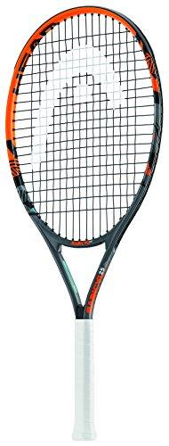 Head Kid's Radical Racchetta Da Tennis per bambini, colore Nero/Arancia, 25