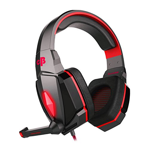 Cosmic Byte Over the Ear Headphone with Mic & LED - G4000 Edition (Pink) Image 3