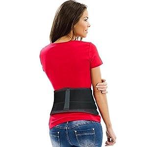 AidBrace Rückenbandage Stützgurt – lindert Schmerzen im unteren Rücken, Ischias, Skoliose, Bandscheibenvorfall oder Bandscheibendegeneration