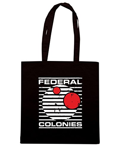 T-Shirtshock - Borsa Shopping TF0066 The Federal Colonies of Mars Nero