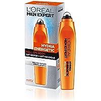 L'Oréal Paris Men Expert Hydra Energetic Roll-on Occhi Anti-borse e Anti-occhiaie, con Vitamina C e Caffeina, 10 ml