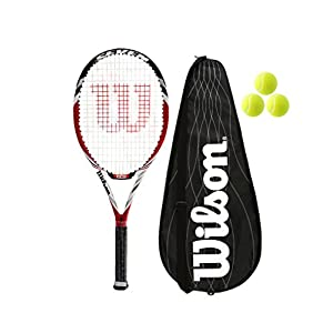 Wilson BLX Seven Tennisschläger + Full Cover + 3 Balle RRP £220