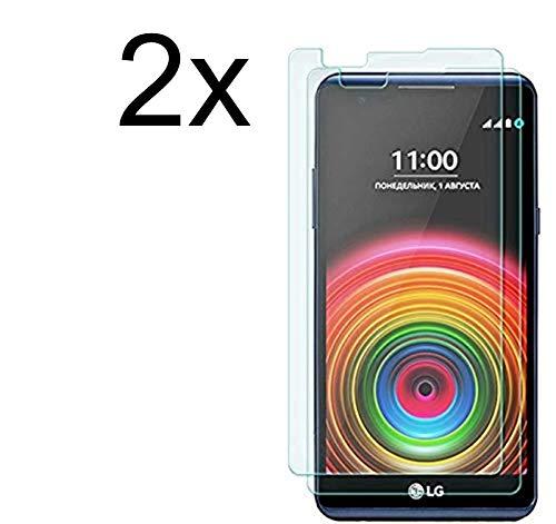 Cardana | 2X bruchsicheres Panzerglas für LG X Screen | Schutzfolie aus 9H Echt Glas