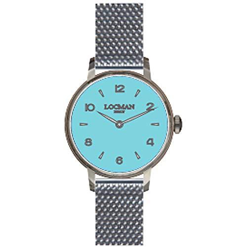 Reloj Solo Tiempo Mujer Locman 1960 clásico cód. 0253A12A-00GANK2B0