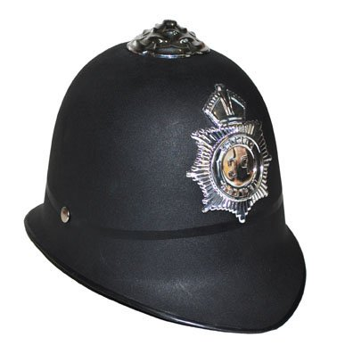Hut Polizei Bobby englischer Polizist british Police Hat Zubehör Kopfbedeckung