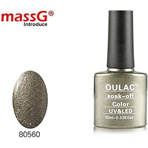 OULAC uñas de gel UV/LED Número 8056010ml