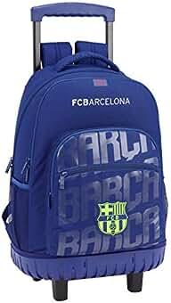 c06cc7cbe44ef FC Barcelona Mochila Grande con Ruedas Carro Fijo