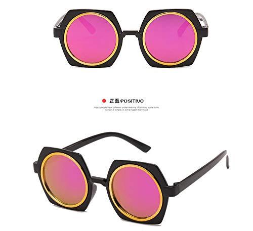 Sonnenbrille Kinder Sonnenbrille Baby Beschichtung Objektiv Sonnenbrille Fabrik Großhandel Uv400 Kind Eyewear Baby Schwarz Lila