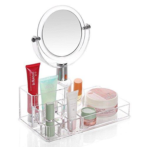TuTu Acrylique avec boîte à cosmétiques transparente cosmétiques / cosmétiques (22 * 12.8 * 8 cm)