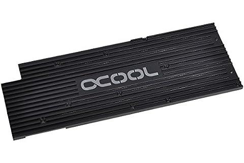 Alphacool Backplate für GPX - Nvidia Geforce GTX 780 M02 - Schwarz